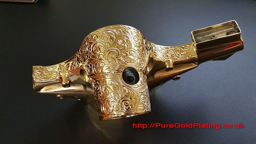 Scooter Headset Gold | by PureGoldPlating
