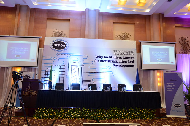 22nd Annual Research Workshop - Why Institutions Matter for Industrialization-led Development