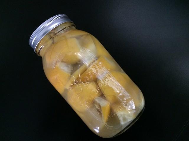 Lemons in Jar