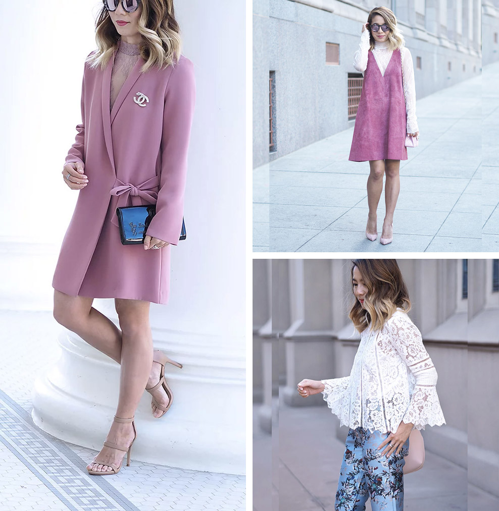 10 Romantic, Feminine Style Fashion Bloggers (Stephanie - Lam in Louboutins)