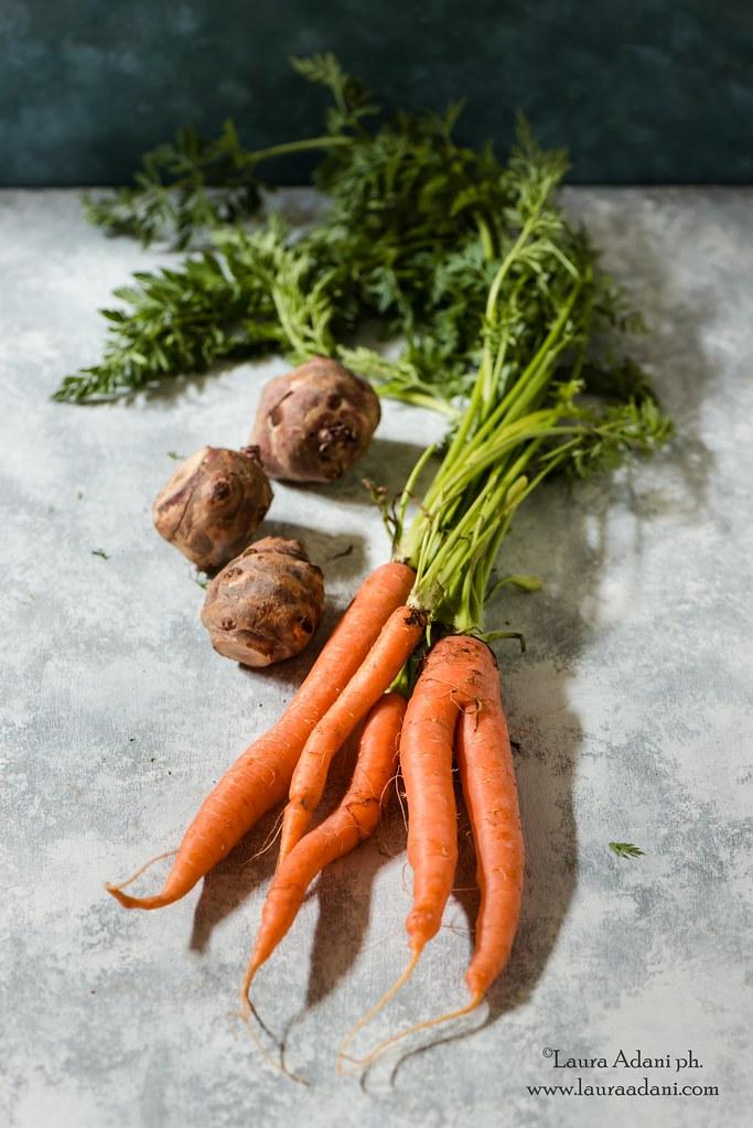 carote e topinambur