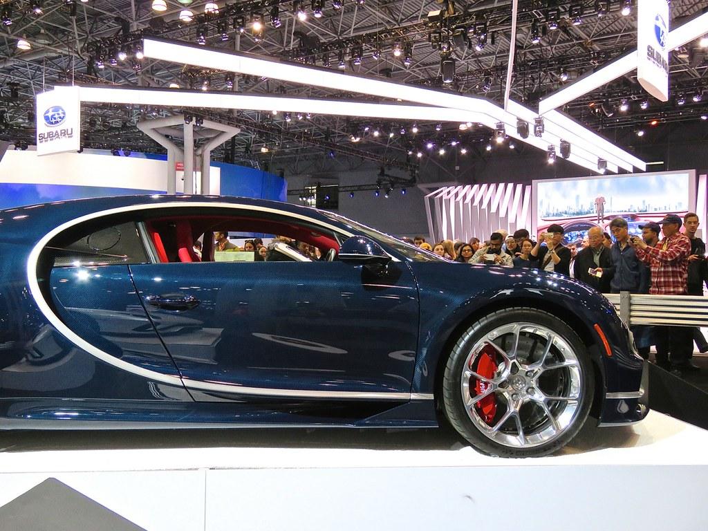 Bugatti Chiron NYIAS 1