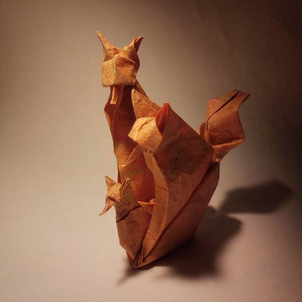Origami Paper - 'Modak Sweet' (Ganapathi | Ganesh Chaturthi ... | 1024x1024