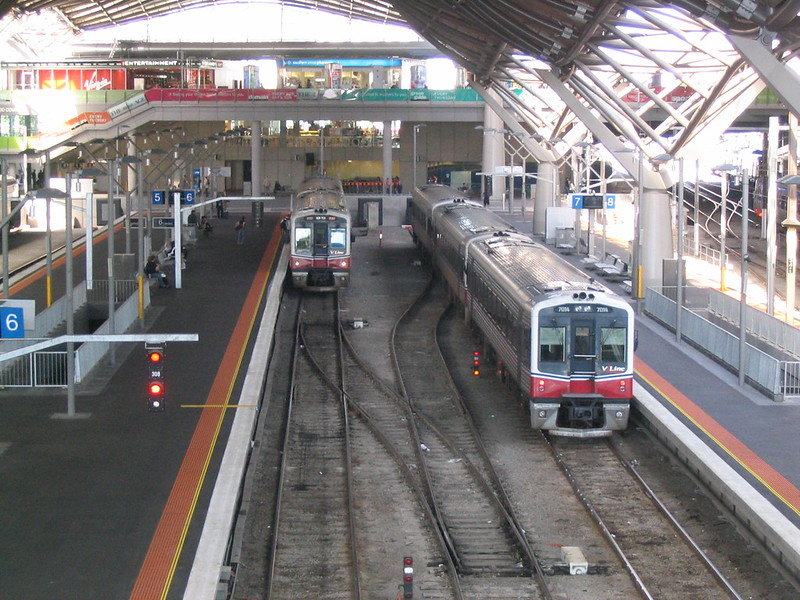 Southern Cross Station, April 2007