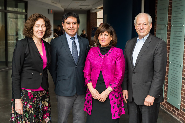 Barbara Weisel with Judy Dean, Ricardo Lopez and Peter Petri
