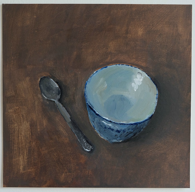 pinch bowl and teaspoon