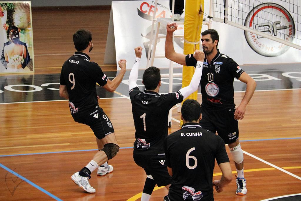 Voleibol: Vitória SC 3-2 Esmoriz