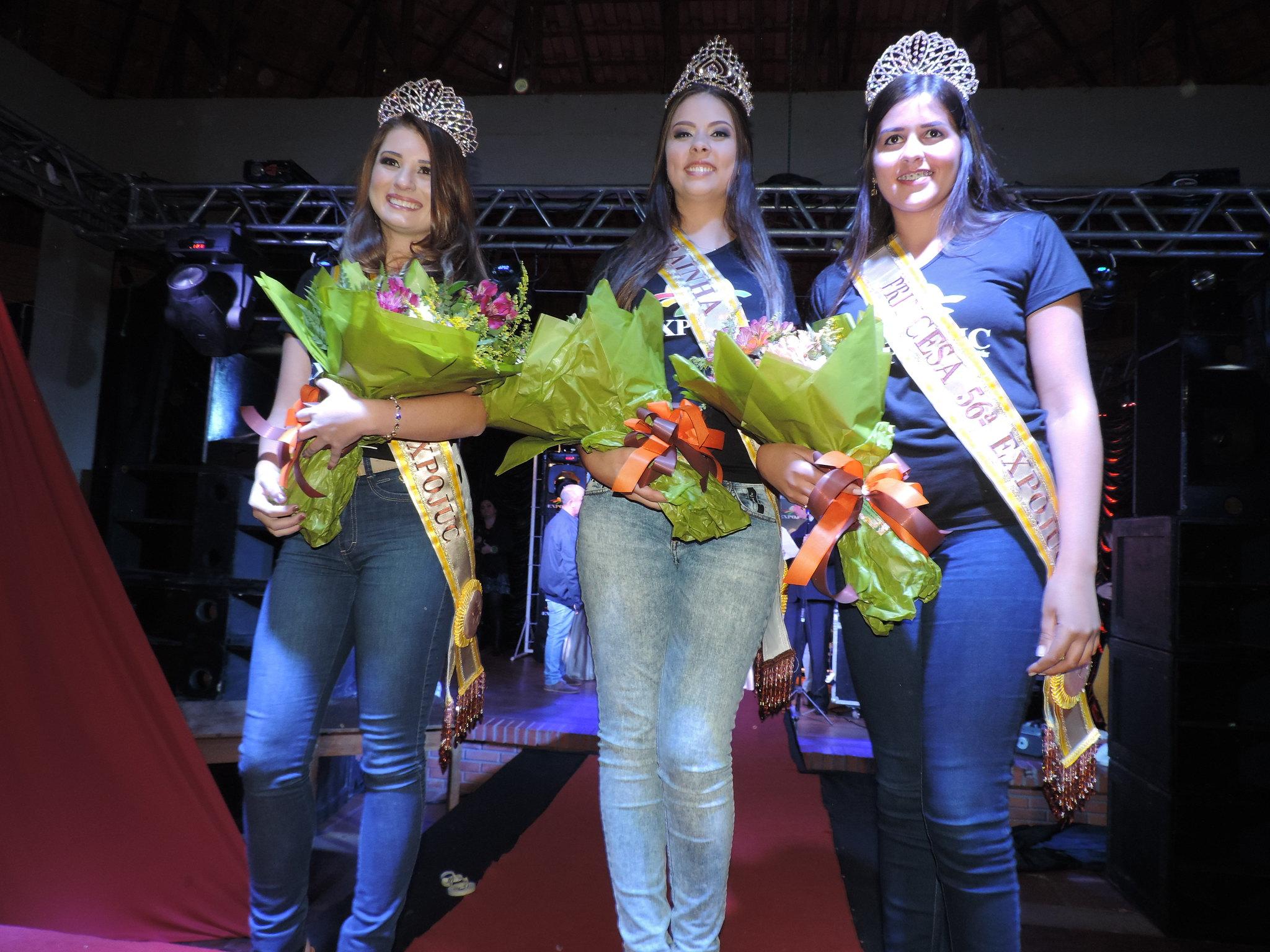 Eleitas as soberanas da 56ª Expofeira de Júlio de Castilhos