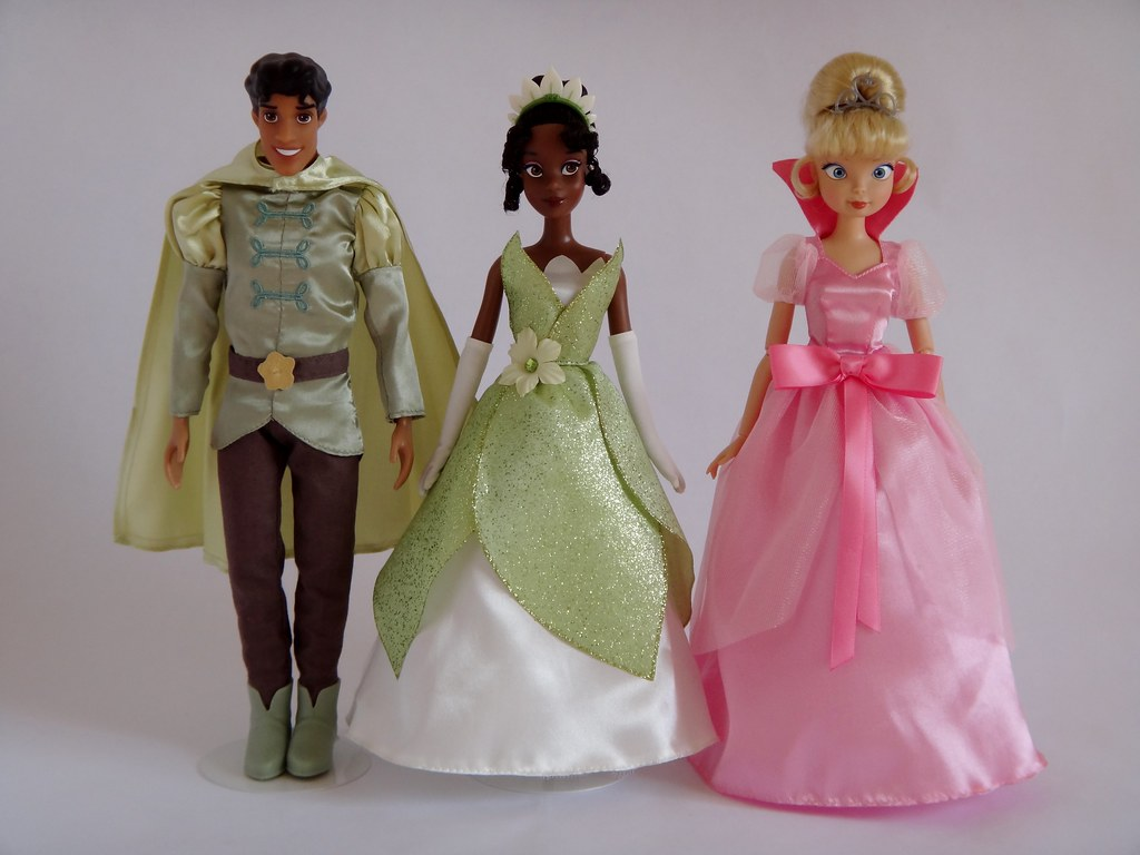 20122013 The Princess and the Frog Movie Cast Dolls  Dis  Flickr
