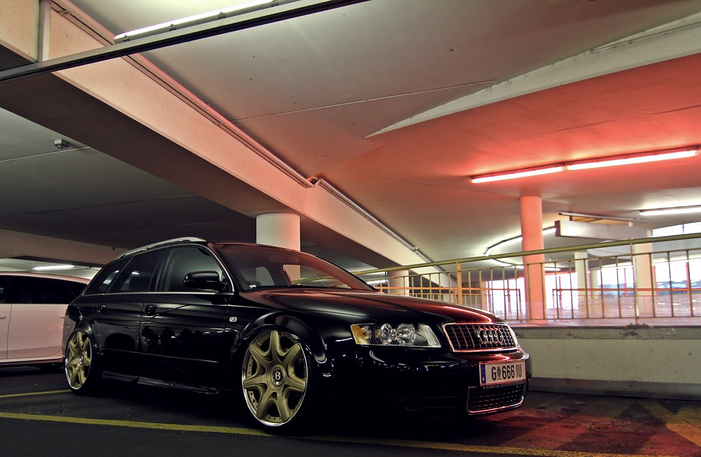 Audi A4 Avant Airride Bentley Wheels Black Schwarz Flickr