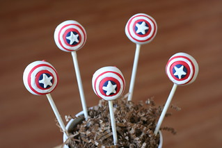 Superhero Cake Pops | by Sweet Lauren Cakes