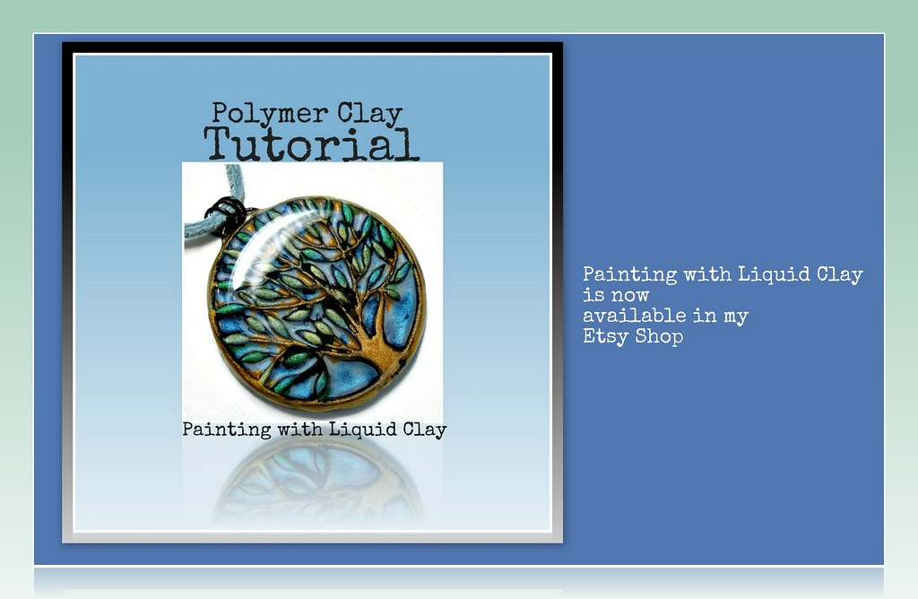 Polymer clay painting with liquid clay tutorial brand for Clay mural tutorial