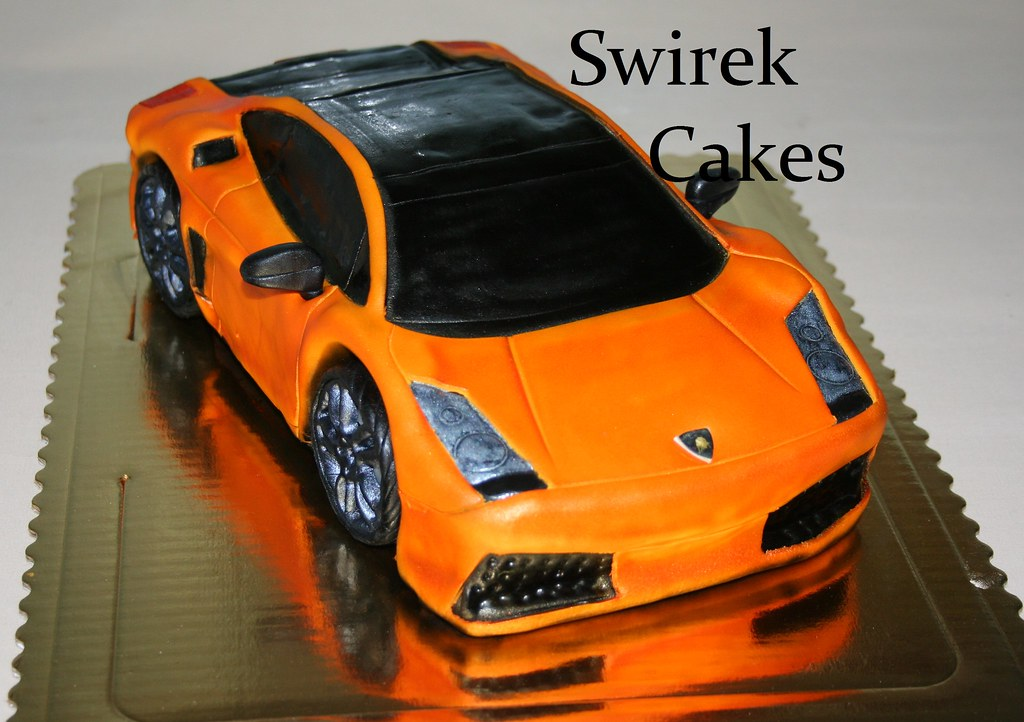 Car Model Birthday Cakes