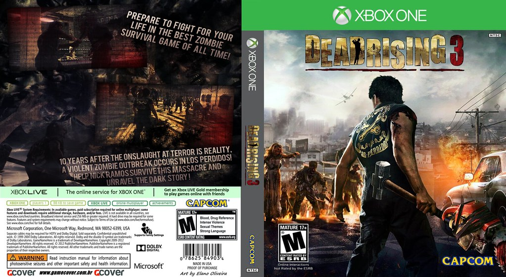 Book Cover Drawing Xbox One ~ Dead rising xbox one cover art