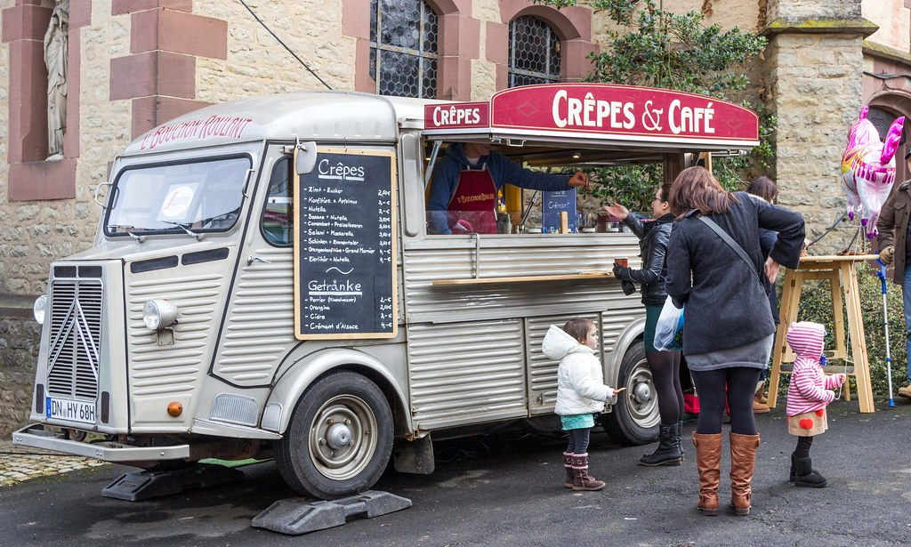 Crepe Food Truck Menu