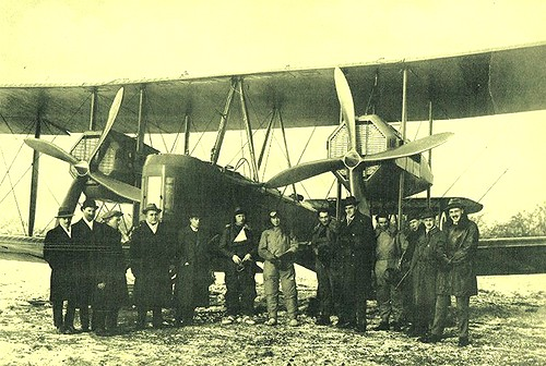 Hounslow Heath Airport  1919. First flight to Australia. | by Helsinki 275 ( Jim Lawes)