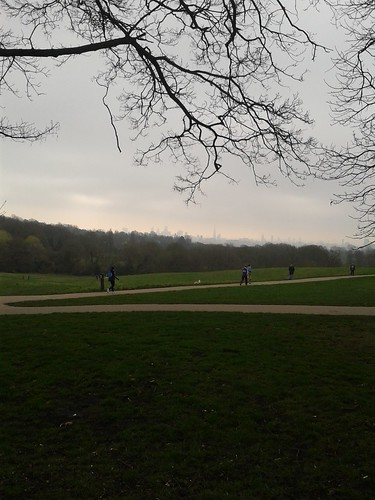 London View From Hampstead Heath