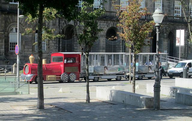 A Road Train in Porto