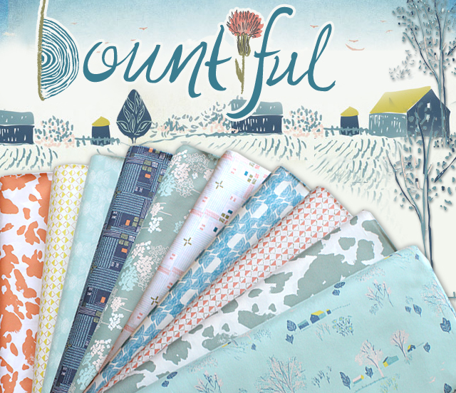 Art Gallery Fabrics Bountiful Collection by Sharon Holland