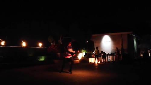 (VIDEO) DavaoFoodTripS.com | Subak fire dancers - Fire and Ice BBQ Grill Buffet at Marco Polo Davao Hotel