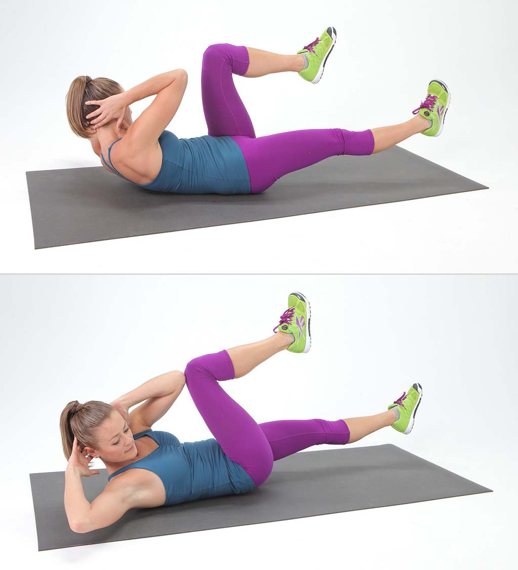 Exercises To Get Flat Stomach & The Sexiest Abs #5: How To Make Butterfly Crunch