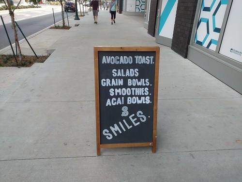 & smiles