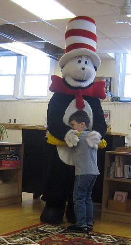 a hug for the Cat in the Hat