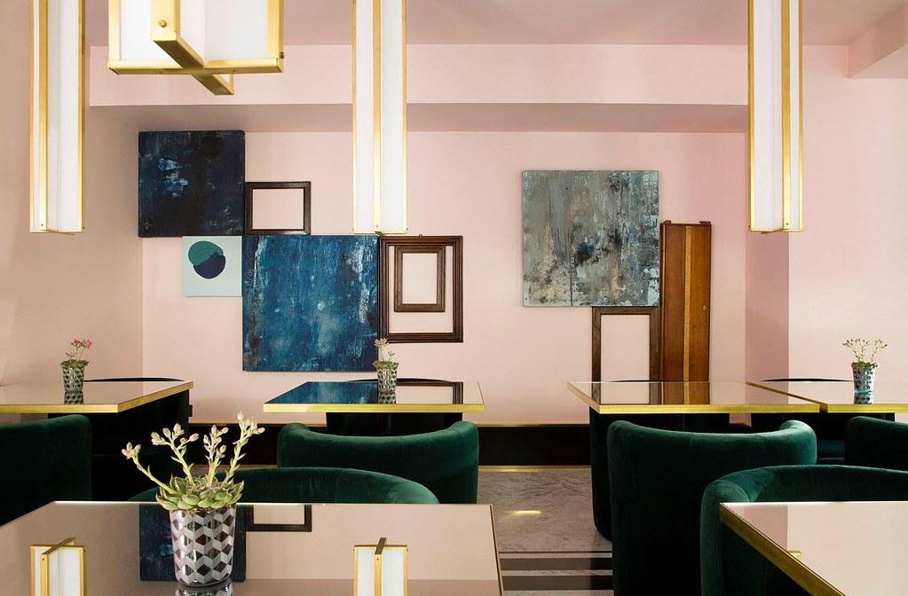 Elegant hotel Saint-Marc in Paris by the Milan design agency DIMORESTUDIO Sundeno_03