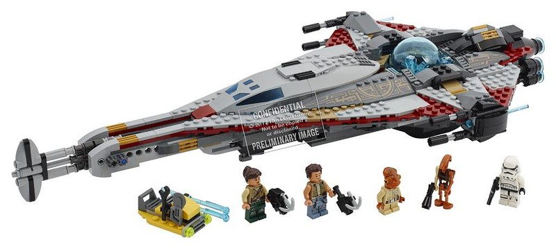 LEGO Star Wars Estate 2017 - The Arrowhead (75186)