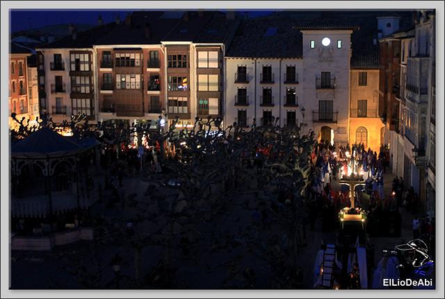 Procesión del Santo Entierro en la Semana Santa de Briviesca 2017 27