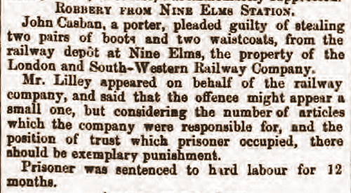 South London Chronicle 12Jun1869 John C pleads guilty
