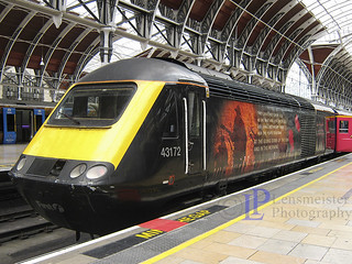 43172 Harry Patch at Paddington