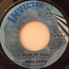 FREDA PAYNE:BAND OF GOLD(LABEL SIDE-A)