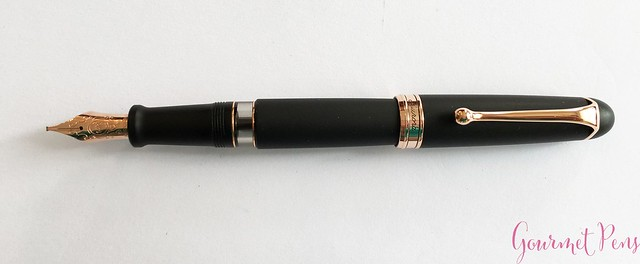 Review Aurora 88 Matte Black Fountain Pen @KenroPens @AndersonPens 9