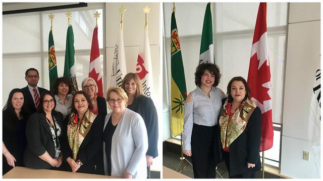La Cónsul de México en Calgary realiza visita de trabajo a Regina