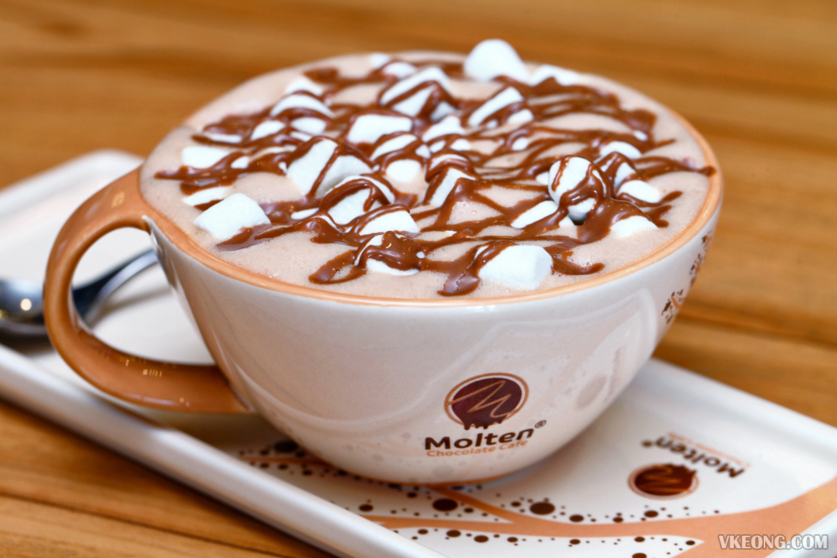 Molten Mallow Hot Chocolate