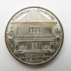 1934 NSDAP Hall of Honour Medal reverse