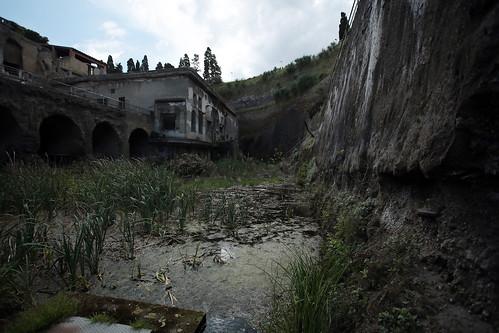 Acquitrino nel fossato