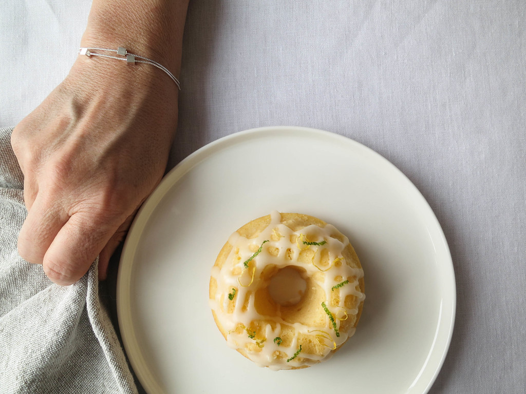Elderflower-lemon bundt cakes recipe