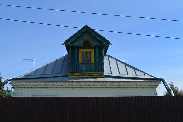 House with mezzanine