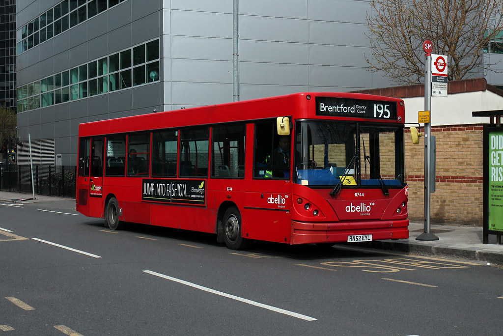 ... Abellio London, 8744, RN52EYL | by Jack Marian