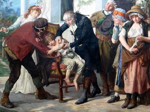 Historia de las vacunas en período de vacunación escolar