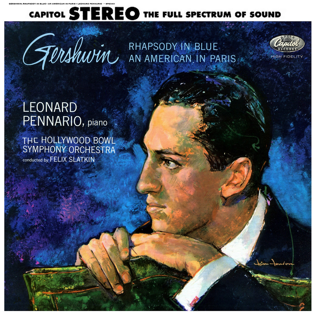 George Gershwin - An American in Paris / Rhapsody in Blue