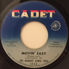 THE RAMSEY LEWIS TRIO:HANG ON SLOOPY(LABEL SIDE-B)