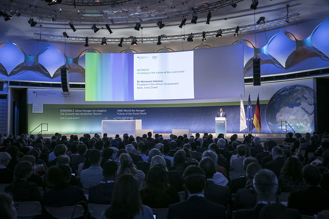 One World, No Hunger: Future of the Rural World (Pre-G20 Summit), Berlin, Germany April 26 -28, 2017