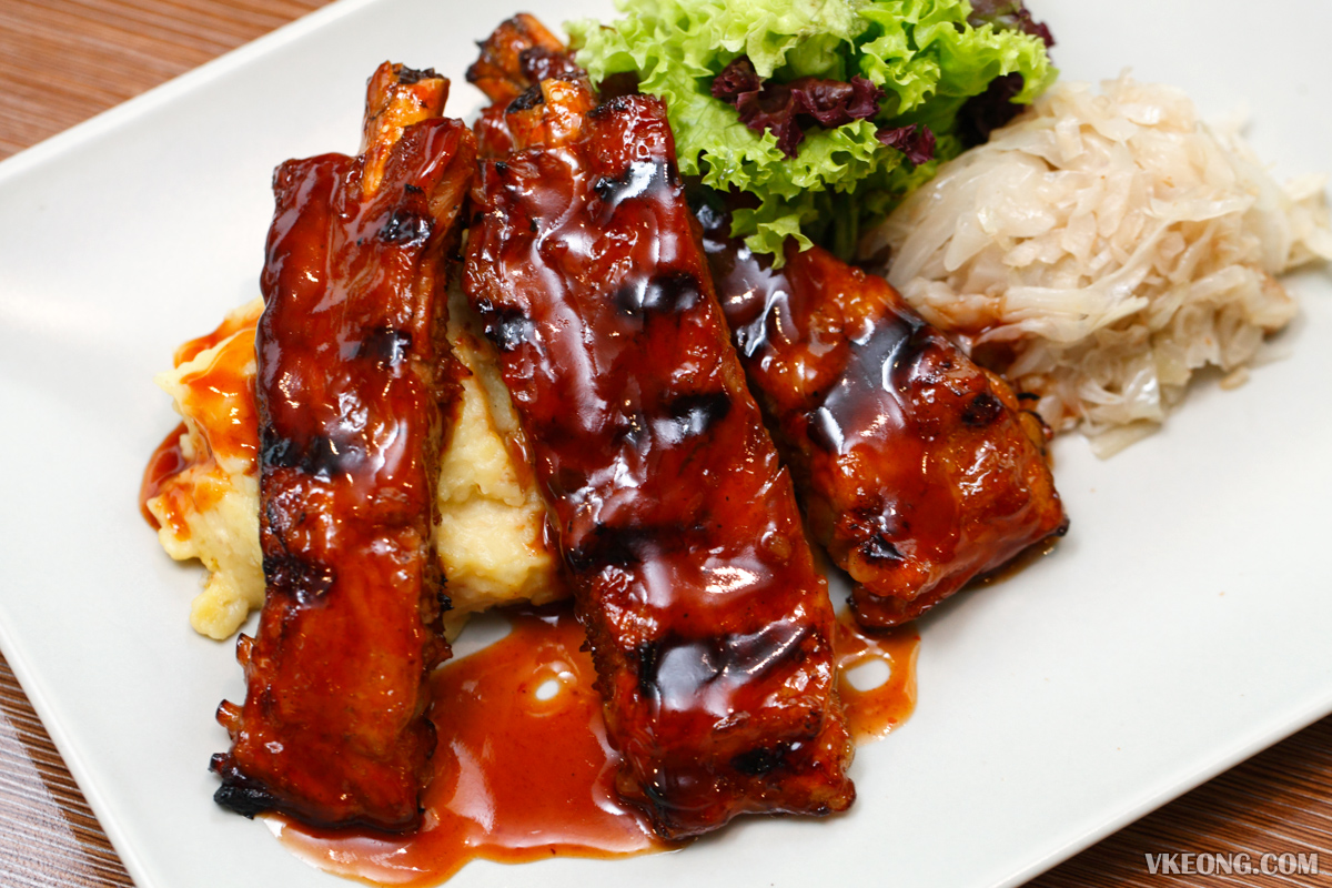 Eighty9 Restaurant BBQ Ribs