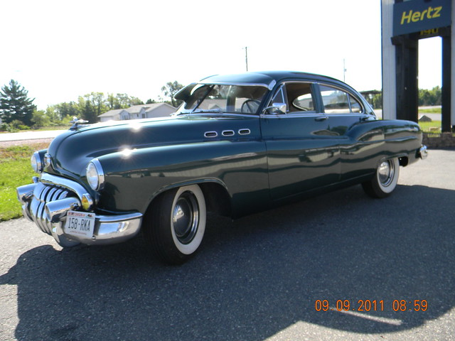 1950 buick special 4 door jetback sedan flickr photo