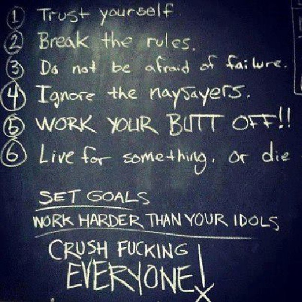 Two Rules For Success Rules of Success Fitness