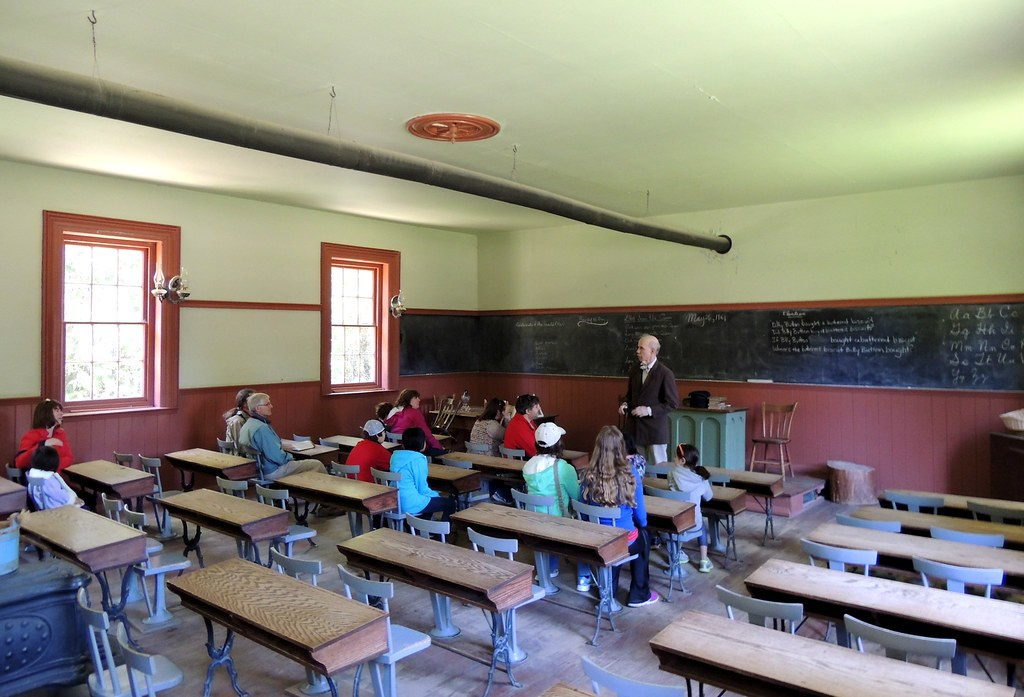 ... Interior Of Dicksonu0027s Hill School .... Black Creek Pioneer Village,  Toronto,