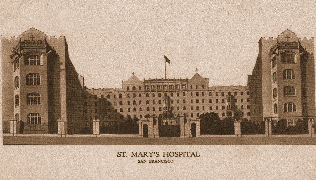 Image result for st mary's hospital san francisco